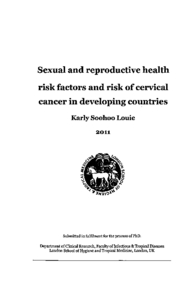 Phd thesis on cervical cancer
