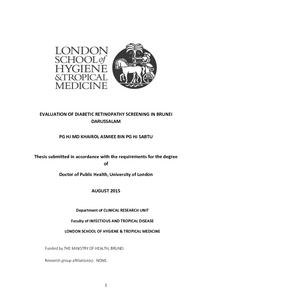 diabetic retinopathy thesis In this thesis, advances in structural and functional ophthalmic imaging  techniques  of oct angiography in retinal diseases, including diabetic  retinopathy and.